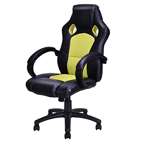 41zBvTHNh1L - COLIBROX-High-Back-Race-Car-Style-Bucket-Seat-Office-Desk-Chair-Gaming-Chair-Green-New-New-Modern-Style-Beautiful-Generous-And-Strong-Practicability-Comfortable-Attractive-Supportive