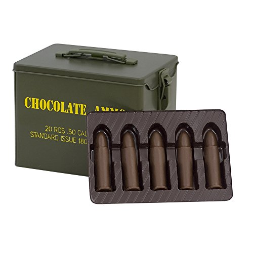 Chocolate Bullets with Ammo Can