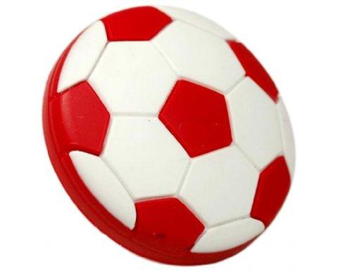 unidecor los niños habitación Gabinete Tiradores de Cajón de goma rojo Fútbol 5pcs/lot promoción de la Copa del Mundo...