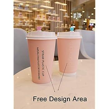 Amazon.com: Tazas de papel desechables personalizadas de ...