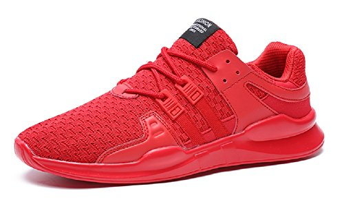 JIYE Men's Running Shoes Outdoors Lace Up Fashion Sneakers,
