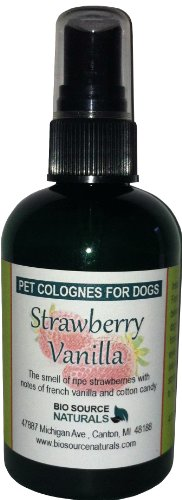 - Strawberry Vanilla Pet - Dog Cologne Spray (4 oz/ 120 ml)