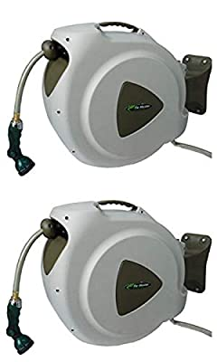 RL Flo-Master 65HR8 Retractable Hose Reel, Brown