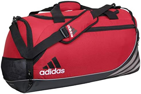 adidas Black Team Speed Duffel Bag (Medium)