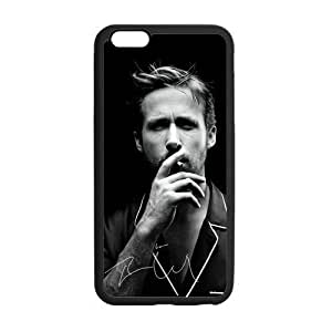 Custom Ryan Gosling Gray Pattern Phone Case Laser Technology for iPhone 6 Plus Designed by HnW Accessories