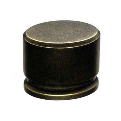Top Knobs TK61 Sanctuary 1-3/8 Inch Long Oval Cabinet Knob, German Bronze
