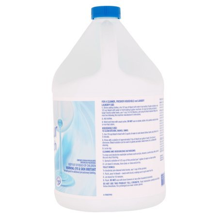 Great Value Easy Pour Bleach, Regular Scent, 121 fl oz - Pack of 10 by Great Value (Image #5)