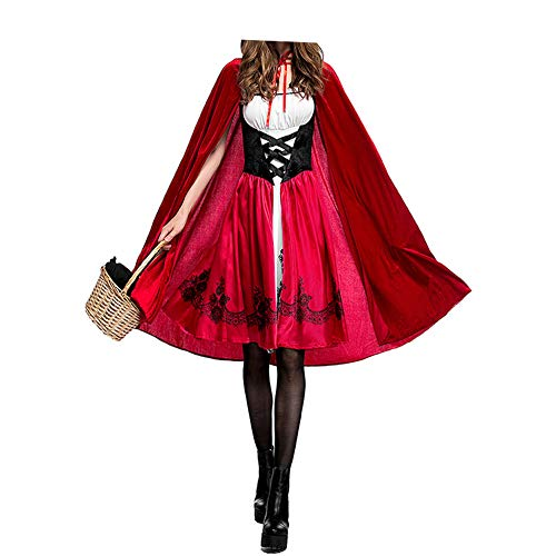 Freedom Go Women's Halloween Little Red Riding Hood (Evil Red Riding Hood Costumes)