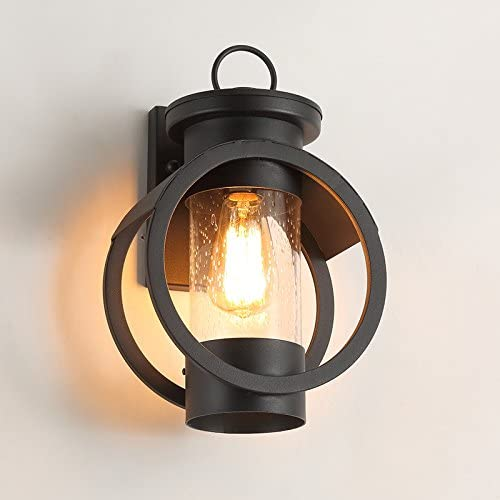 LightInTheBox Vintage Outdoor Wall Lights Waterproof Mini Style Retro Country Flush Mount Wall Lights Garden Metal Wall Lighting Fixture