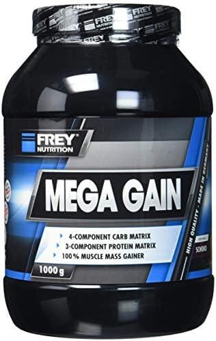 Frey Nutrition Mega Gain Schoko Dose, 1er Pack (1 x 1 kg)