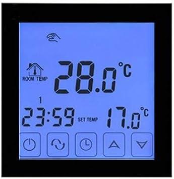 Nassboards Premium Pro Kit de Tapis de Chauffage Au Sol /Électrique Boite Rouge de 200 W Thermostat Noir WiFi 5.0m/²