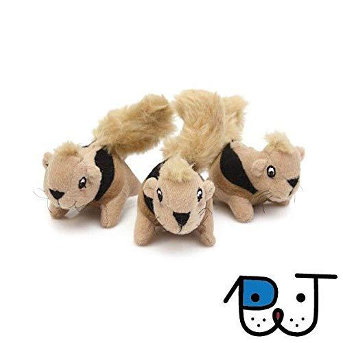 Brinquedo Outward Hound Hide-a-Squirrel - Refil 3 Esquilos