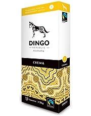 Crema Pods for Nespresso®* - 60 Australian Fairtrade Coffee 7/12 by Dingo Republic (56g per Pod)