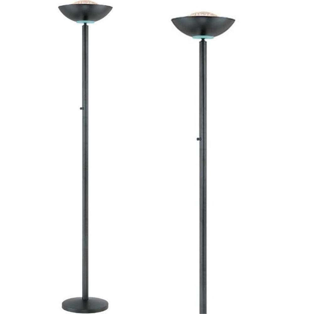 Amazon.com: Lite Fuente Basic II Torchiere – Lámpara de pie ...
