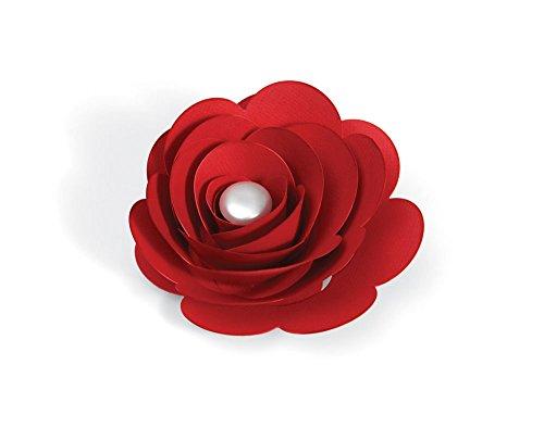 Sizzix 657152 Bigz Pro Die 3-D Flower by Beth Reames, Red