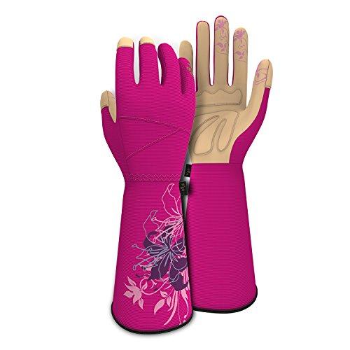 Elbow Length Crazy Cute Pink Garden
