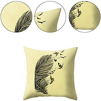 Milnut Housses de Coussin d/écorative Tables et chaises 45/x 45/cm/ /Attrape-r/êve Style 1 taie doreiller d/écorative carr/ée Souple adapt/é pour canap/és Lits