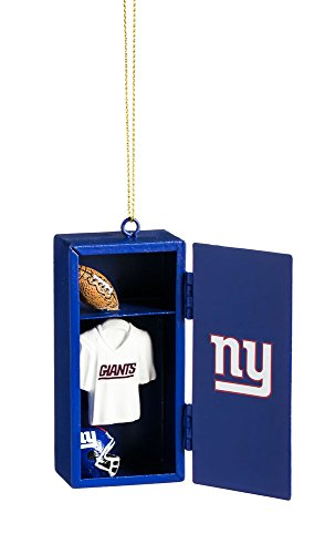 Team Sports America New York Giants Team Locker Ornament -