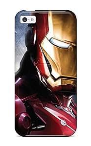 AmyAMorales OdOHhdI19469peKle Protective Case For Iphone 5c(iron Man)