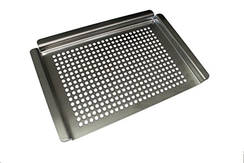 KitchenAid 650-0003 Gas Accessory, Grill Topper, Stainless Steel by KitchenAid