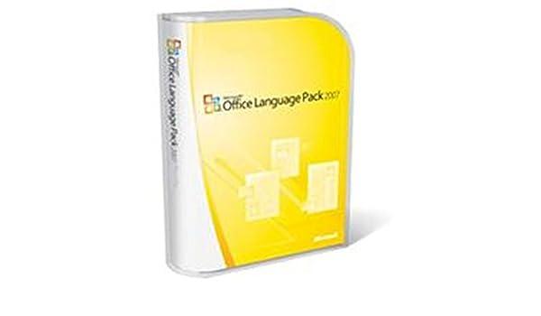 Microsoft Office Multi-Language Pack 2007, DE, DVD - Suites de ...