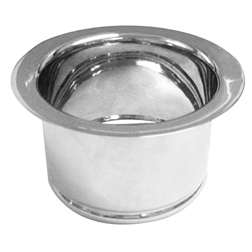 Westbrass D2081-12T Extra Deep In-Sink-Erator Disposal Flange, Tumbled Bronze by Westbrass
