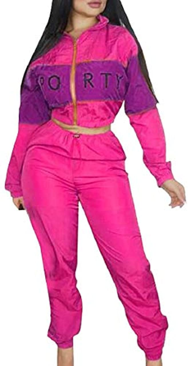 怖がらせるお酒しないchenshiba-JP レディースツーピースパンツ衣装 長袖ジャケット トップパンツ スーツセット 4 US Medium