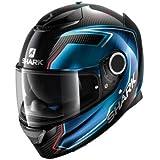 Shark Spartan Carbon Full Face DVS Motorcycle Motorbike Helmet - Guintoli DUB
