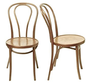hnd a18 thonet bentwood chair oakhnd a18 thonet bentwood chair oak amazon co uk kitchen home
