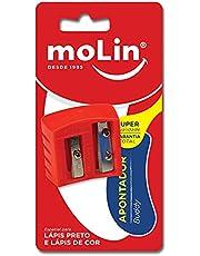 Apontador Buddy - Blister c/1 unidade, Molin, 15593, Multicor