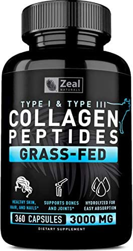 Collagen Peptides Capsules Protein Powder product image