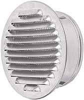 Tapa de Rejilla de Ventilación de Aluminio Circular Ø 120 mm, Cocina Campana con Malla: Amazon.es: Bricolaje y herramientas