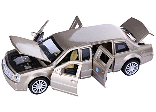 (Berry President(TM 1:32 Presidential Limos 2009 Cadillac Limousine Car Electric Toy Sound & Light - Birthday (Coffee))