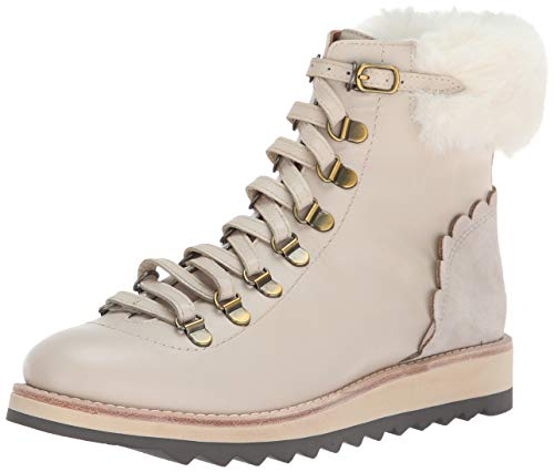 Kate Spade New York Women's Maira Hiking Boot,Off White Shalimar Calf,8.5 M US