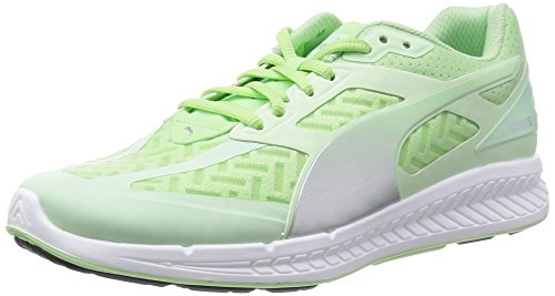 Puma Ignite Powercool women Running Shoes Jogging 188078 02 green PATINA GREEN-SILVER METALLIC