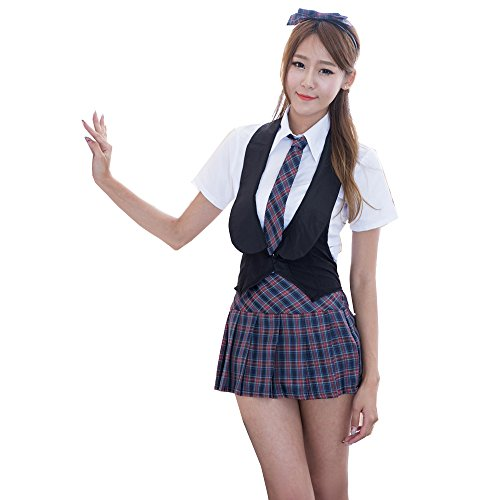 [Marshel Women Japanese Maid Costume Lolita Dresses Cosplay Black] (Rikku Cosplay Costume For Sale)