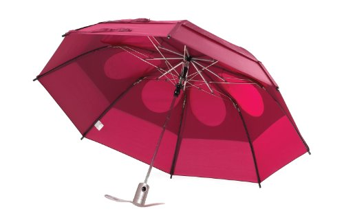 - GustBuster Metro 43-Inch Automatic Umbrella (Burgundy)
