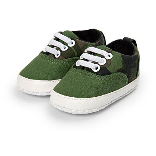 BabyCute , Baby Jungen Lauflernschuhe Grün