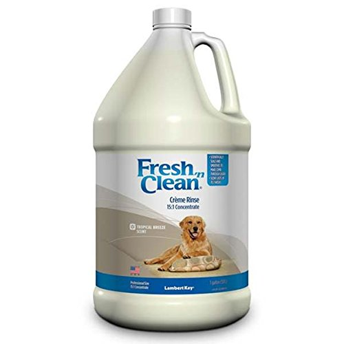 Fresh Gallon Rinse (Lambert Kay Fresh N' Clean Creme Rinse, 15:1 Concentrate Gallon Size, Tropical Breeze Scent)