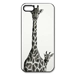 @ALL Giraffe Design Cover Case For Iphone 6 (4.7inch)(Black) with Best Plastic