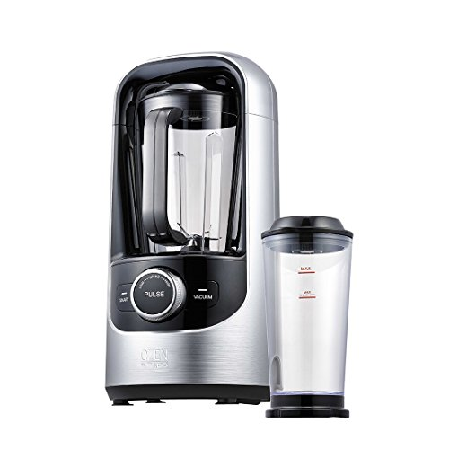 Pado Ozen 500 Vacuum Blender, High Speed Blender for Blending Healthier Smoothies and Juice, Plus Extra Vacuum Storage Container – Silver