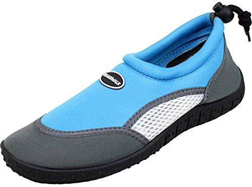 Femmes Bébés Sport Enfants Hommes Hellblau Chaussures Piscine Aquatique Unisexe Plage Bockstiegel SYLT Néoprène ZqIaYSTwx
