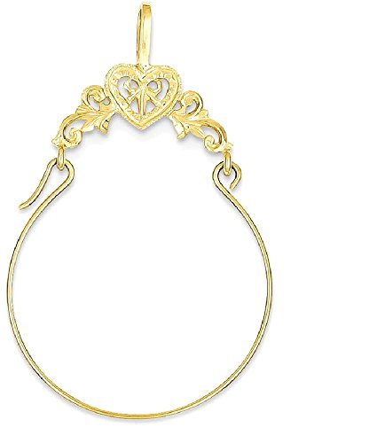 Buy filigree heart necklace gold