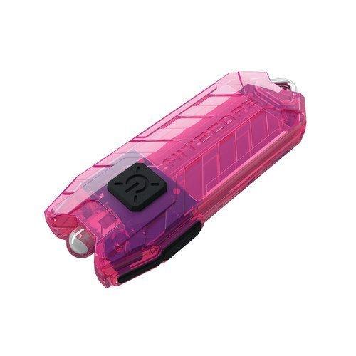 Nitecore Tube Keychain Light T Series 45 Lumen Multi Color Pocket Flashlight, Pink