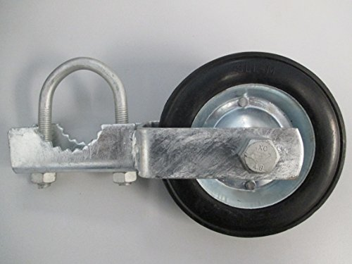 GATE HELPER WHEEL: for Chain Link Fence and other Swing Gates with 1.5-2