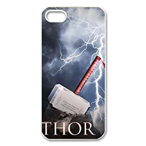 CTSLR iphone 5 Case -Movie & Teleplay Thor Hard Plastic Back Proctive Case Cover for iphone 5 - 1 Pack - 03 by icecream design