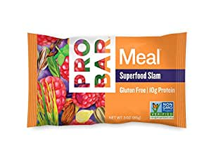 PROBAR - Meal Bar, Superfood Slam, 3 Oz, 12 Count - Plant-Based Whole Food Ingredients