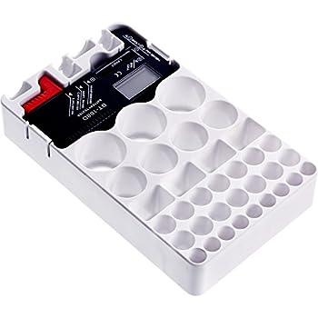 D-FantiX Battery Organizer with Battery Tester, Battery