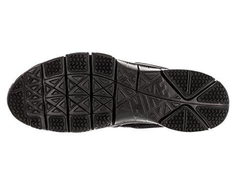 Nike Free Ace Lthr, Botas de Fútbol para Hombre Negro / Naranja (Black / Black-Hyper Orange)