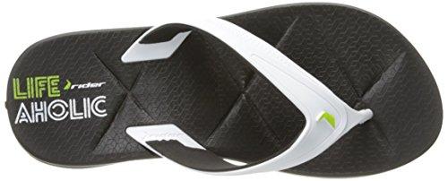 Cavalier Homme Easy Ii Sandale Noir / Blanc